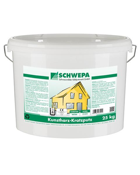 Kunstharz-Kratzputz