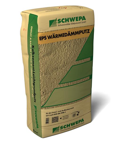 EPS Wärmedämmputz Kalkzement-Leichtgrundputz Typ II