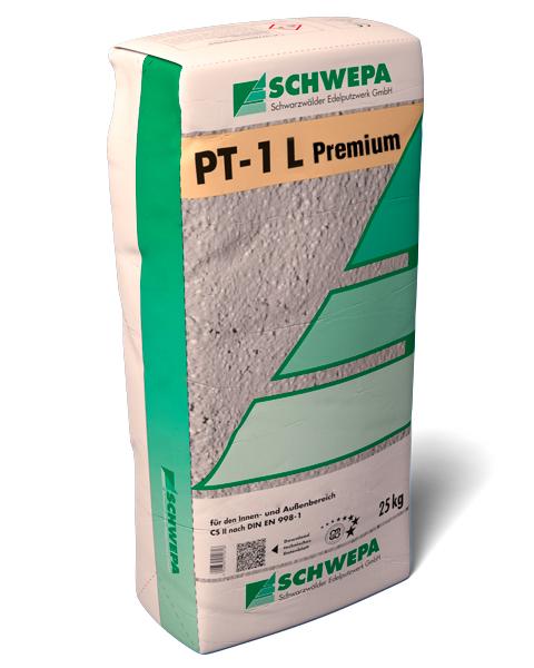 PT-1 L Premium weiß Kalkzement-Leichtgrundputz Typ II